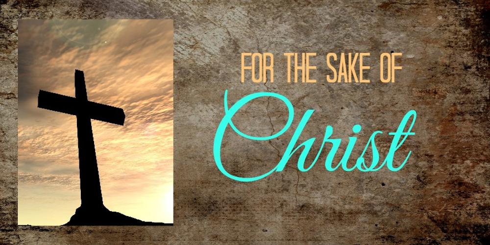 For the Sake of Christ Image
